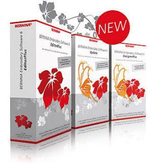 Bernina Designer Plus Version 6 Software, Worldwide Delivery