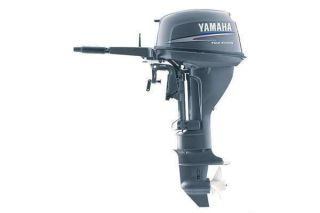 2010 YAMAHA 20 HP ELECTRIC START 4 STROKE OUTBOARD MOTOR TILLER 15