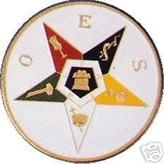 Masonic Eastern Star Car Auto Emblem