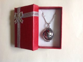 Vampire Diaries Elena Vervain Sliver Pendant Necklace Vervain Filled