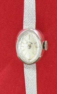 14k white gold Lady Elgin Ladies watch Swiss made