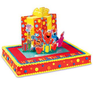 POP UP CAKE Kit Topper Decoration Birthday Party ELMO ABBY COOKIE
