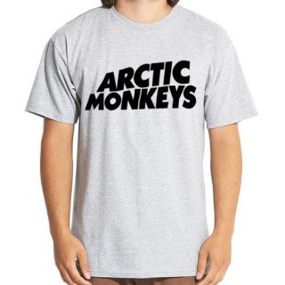 ARCTIC MONKEYS Logo #2 EMO ROCK MUSIC BAND Indie t shirt