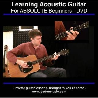 Learn to Play Guitar On DVD / Video Guitar Lessons For Beginners GREAT