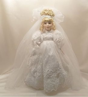Vintage   Collectors   16 Dan  Dee Collectors Choice Porcelain Bride