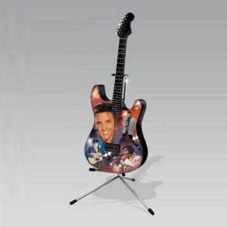 Bradford Exchange Elvis King of Rock n Roll Guitar Free Ship USA