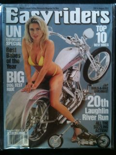 EASYRIDERS Magazine #350 August 2002 Harley Motorcycle Hog Biker