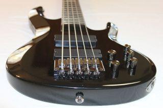 ESP LTD B 205 Black Sample/Prototype Bass Guitar