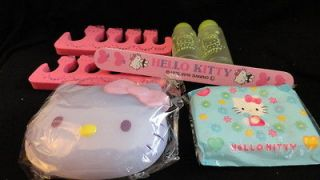 Sanrio Hello Kitty Pedicure Bath Set Pink File