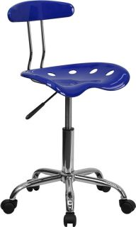 SEAT MID HEIGHT MEDICAL DENTAL STOOLS CHAIRS WITH BACK 4 COLORS