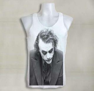 Rock Girl The Joker Heath Ledger Batman The Dark Knight Vest Singlet