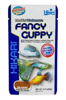 HIKARI TROPICAL FANCY GUPPY .77OZ FISH FOOD FREE SHIP