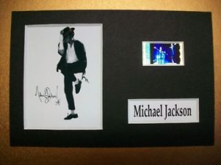 MICHAEL JACKSON Movie Film Cell Memorabilia