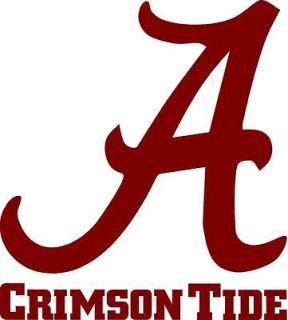 Alabama Crimson Tide Cornhole Sticker Decals 12 #1