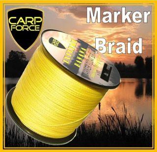 SUPER BANANA YELLOW MARKER FLOAT BRAID CARP MARKER BRAID 300m or 500m