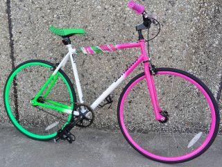 Schwinn Cutter Single Speed Fixed Gear Fixie Bike 22  Frame Pink
