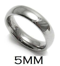 Stainless Steel Comfort Fit Plain Wedding Band Ring   R316 05 2121N
