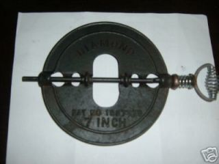Cast Iron Stove Pipe Damper For Wood Stove Insert
