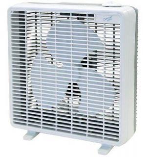 & Quiet Powerful 3 Speed Window / Floor Electric Operated Box Fan