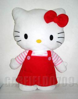 Rare 24 Large Hello Kitty Flat Fuzzy Plush Doll Cushion New