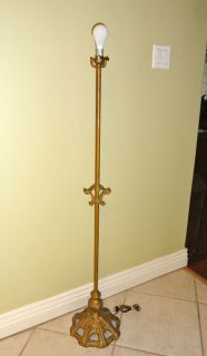 antique floor lamps in Antiques
