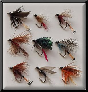 HAND TYED WET FLIES BRAND NEW FISHING FLY for rod reel line BN X