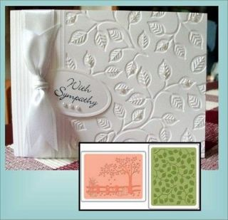 Fall Set Universal Embossing Folder Set by Sizzix for all Standard
