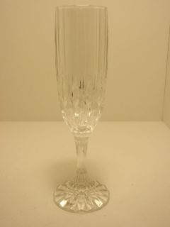 Set of 4 NIB Cristal dArques Bretagne Champagne Flutes Glasses