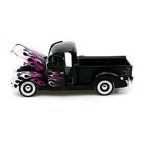 Newly listed 1940 Ford Pickup BLACK WITH FLAME Die Cast Model Car 118