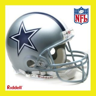 DALLAS COWBOYS ON FIELD AUTHENTIC PROLINE FOOTBALL HELMET by RIDDELL