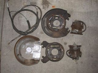 1965 1973 Ford Mustang Fairlane Cougar Rear Disc Brake 9 8 kit for
