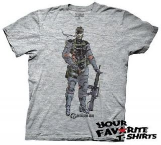 Metal Gear Solid Game Fox Hound Special Forces Snake Licensed Adult