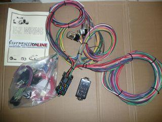 ez wiring min 12 harness uses mini fuses universal street hot rod