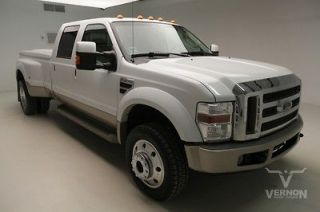 Ford : F 450 King Ranch C 2008 DRW King Ranch Crew 4x4 Sunroof Leather