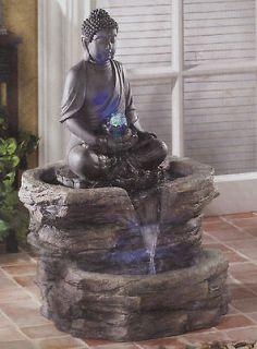 Zen Buddha In Repose Serenity Fountain