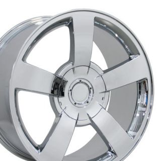 Alloy Wheels Rims 22x10 New (Fits 2004 Chevrolet Silverado 1500
