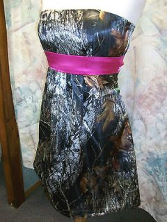 camo prom dresses in Wedding & Formal Occasion