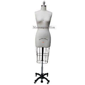 New Female Professional Fashion Dressmaker Dress Form Size 8