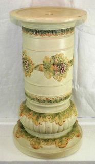 Vintage Weller Art Pottery Roma Pedestal Base for a Jardiniere,19