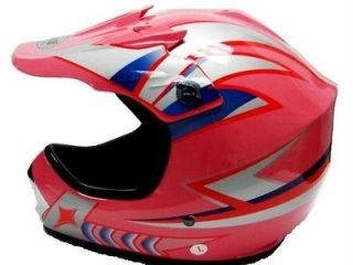 YOUTH HELMET L PINK BLUE MTB LARGE GIRL BIKE RACE FREESTYLE FULL FACE