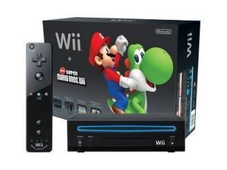 Newly listed Nintendo Wii Holiday Bundle Black Console (NTSC)