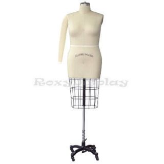 Professional dress form Mannequin Plus Size 18 Hip+Arm