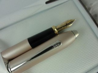 Cross Townsend Champagne Solid 14k XF nib fountain pen