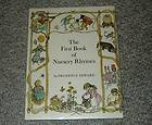 First Steps Nursery Rhymes African American book rare