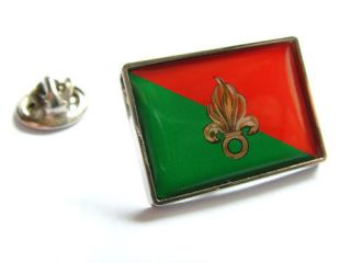 FRANCE FRENCH FOREIGN LEGION FLAG LAPEL PIN BADGE GIFT