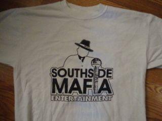 Dallas SOUTHSIDE MAFIA gangsta rap hip hop T Shirt L