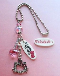 Newly listed HELLO KITTY PINK Rearview Mirror Car Charm Sunchaser