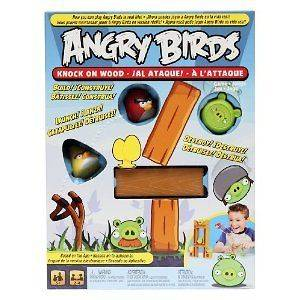 Angry Birds Knock On Wood Game  BRAND NEW