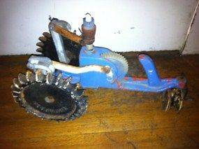 THOMPSON Cast Iron Walking Tractor Lawn Water Sprinkler For Parts