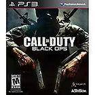 Call of Duty Black Ops PS3 (Sony Playstation 3, 2010) with case and